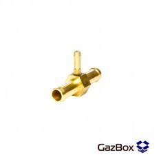 Тройник газовый 11х5х11 мм латунный для МР32