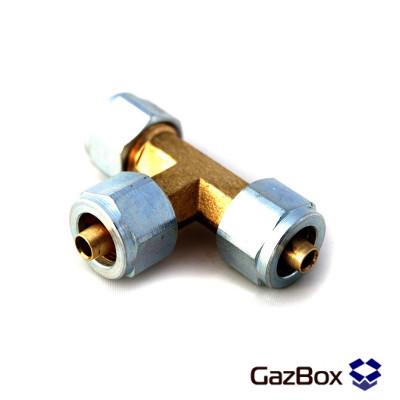 Тройник пластиковой трубки FARO, D=6 мм