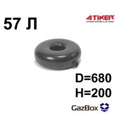 Баллон тор внешняя горловина 57 л (680х200) ATIKER