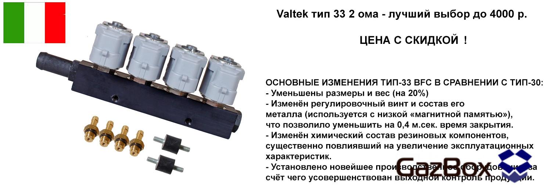 Valtek тип 33 с скидкой!