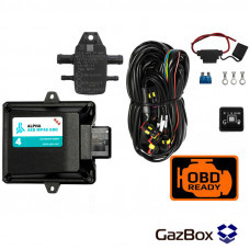 ГБО ALPHA AEB MP48 OBD 4 цилиндра