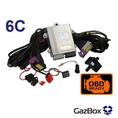 ГБО SECGAS POWER OBD 6 цилиндров
