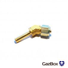 Фитинг для трубки FARO (угол 135), D=8 мм