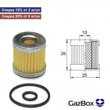 Фильтр газового клапана OMB Star (с кольцами) (неоригинал)