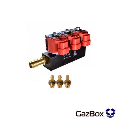 Alpha 30 2ом газовые форсунки на 3 цилиндра