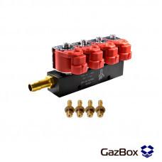 Alpha 30 2ом газовые форсунки на 4 цилиндра