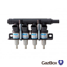 Dymco газовые форсунки на 4 цилиндра
