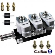 RAIL IG1 2 ом газовые форсунки на 3 цилиндра