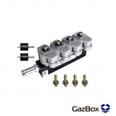 RAIL IG1 2 ом газовые форсунки на 4 цилиндра